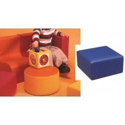 Pouf carré des tout petits H17 cm