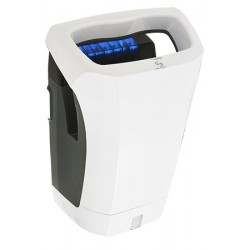 Sèche-mains automatique JVD Stell Air 1200 W blanc