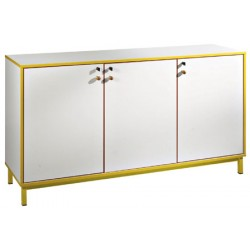 Meuble bas 3 portes battantes L180xH95xP45 cm