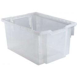 Bac transparent L42,5xH22,5xP31 cm
