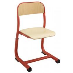 Chaise réglable et appui sur table maternelle T1 à T3