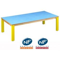 Table bois NF Pioupiou 160x80 cm TC à T3