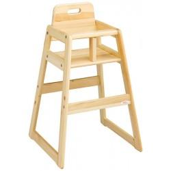Chaise haute bois premium bouleau