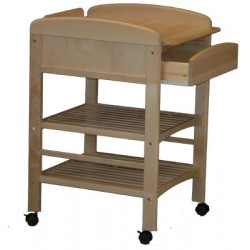 Table à langer Pro bois