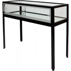 Vitrine d'exposition table L100xP42xH94 cm