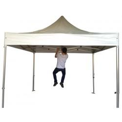 Stand pliant structure alu 50 mm et toit 3x6 m
