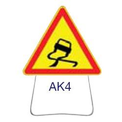 Triangle temporaire galvanisé AK4 1000 CL 1