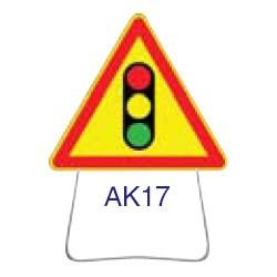 Triangle temporaire galvanisé AK17 700 CL 1