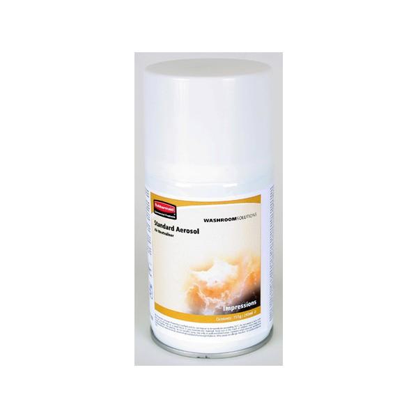 Lot de 12 aérosols parfum Impressions 243ml pour diffuseurs Selectplus et Pulse
