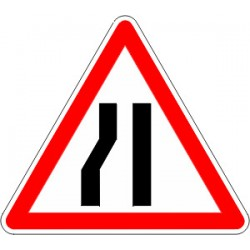 Panneau alu de signalisation danger A3B cl 2 700 mm