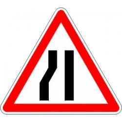 Panneau alu de signalisation danger A3B cl 1 500 mm