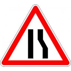 Panneau alu de signalisation danger A3A cl 2 500 mm