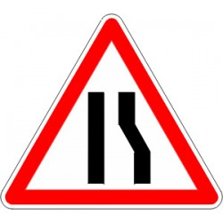 Panneau alu de signalisation danger A3A cl 2 1000 mm