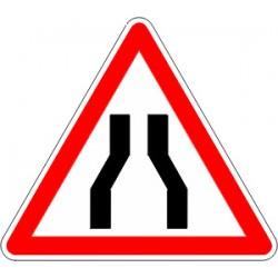 Panneau alu de signalisation danger A3 cl 1 500 mm