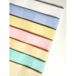 Serviette satin polycoton couleur 55x55 cm