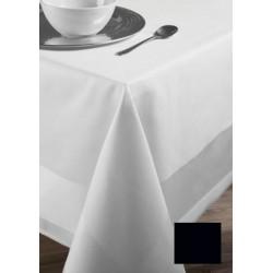 Lot de 20 serviettes de table 45x45 cm toile foncé  coton 235g gamme satin
