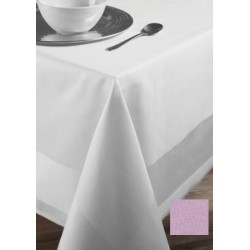 Lot de 20 serviettes de table 45x45 cm toile pastel coton 235g gamme satin