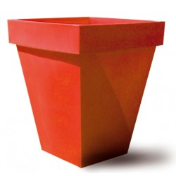 Pot décoratif double carré 83x83xH96,6 cm 50L
