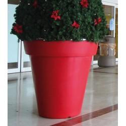 Pot décoratif rond double peau ø 80xH83,5 cm 30L