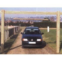Portique de gabarit vehicules (passage 3,35 m)