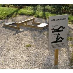 Tables abdominaux (2 niveaux)