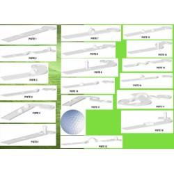 Mini golf 18 pistes et accessoires
