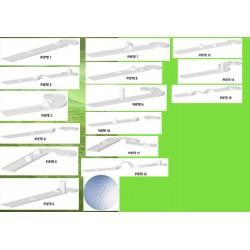 Mini golf 15 pistes et accessoires