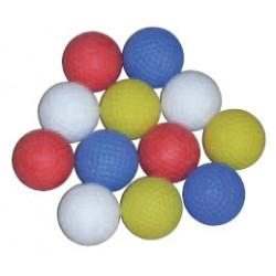 Lot de 48 balles de minigolf