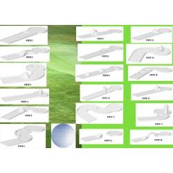 Compact golf 18 pistes et accessoires