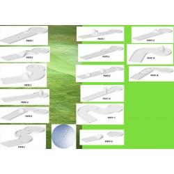 Compact golf 15 pistes et accessoires