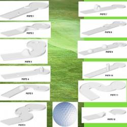 Compact golf 12 pistes et accessoires
