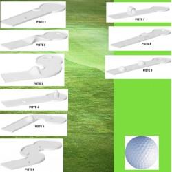Compact golf 9 pistes et accessoires
