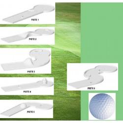 Compact golf 6 pistes et accessoires