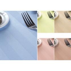 Nappe satin polycoton couleur 144x202 cm