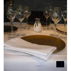 Lot de 10 nappes carrées 145x145 cm toile foncé  230g gamme lin