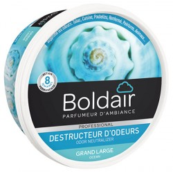 Lot de 6 boites 300g de gel destructeur d'odeurs grand large Boldair