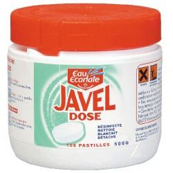 Lot de 12 boites de 156 javel dose professionnel desinfectante Eau Ecarlate
