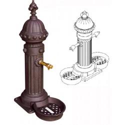 Fontaine Primevère en fonte double