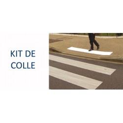 Kit de colle pu 505 bicomposant pour dalles podotactile