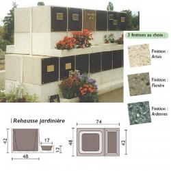 Rehausse Jardinière columbarium