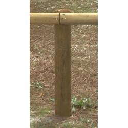 Poteaux bois diam 12xL120 cm