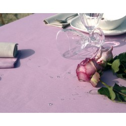 Lot de 10 chemins de table 55x140 cm toile pastel 230g gamme lin