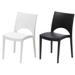 Lot de 24 chaises empilables Plaisance coloris std