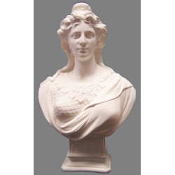 Buste de Marianne classique blanc