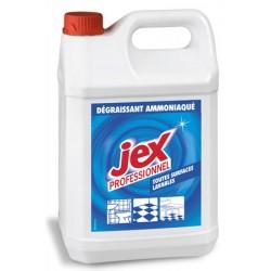 Lot de 4 degraissants ammoniaque Jex Professionnel 5L