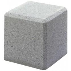 Borne Thuya 30x30x30 cm gris