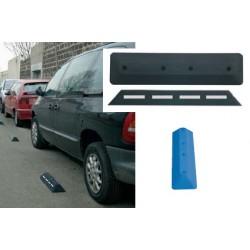 Séparateur de voies bleu (places handicapés) L60xL150xH70 mm
