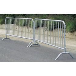barrière police 19 barreaux L2,5M