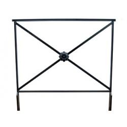 barrière Assia L100 cm sans crosse avec rosace