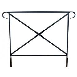 barrière Assia L100 cm avec crosse sans rosace